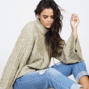 Free people snow bird pullover